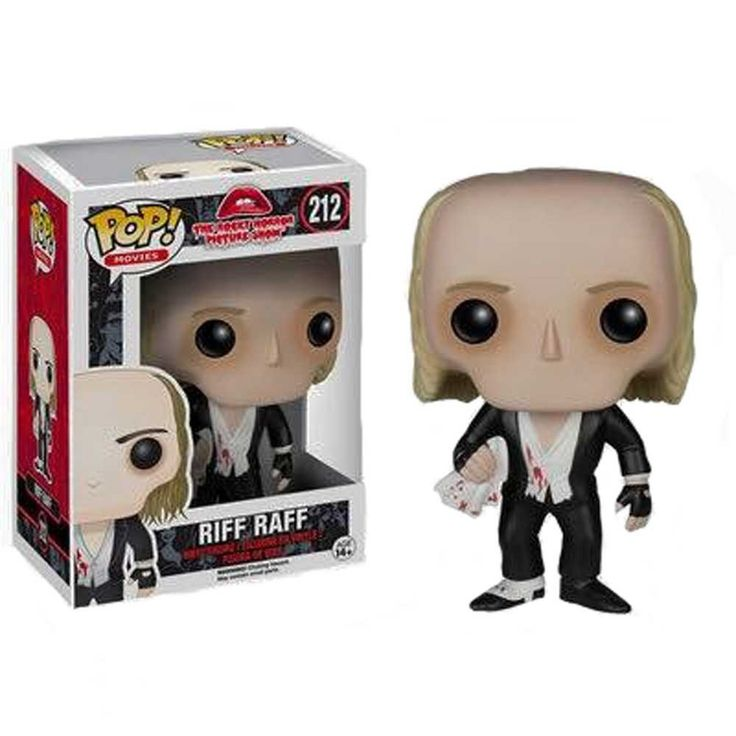 FUNKO POP! VINYL COLLECTIBLE RIFF RAFF ROCKY HORROR PICTURE SHOW FIGURE FIGURINE DOLL RARE