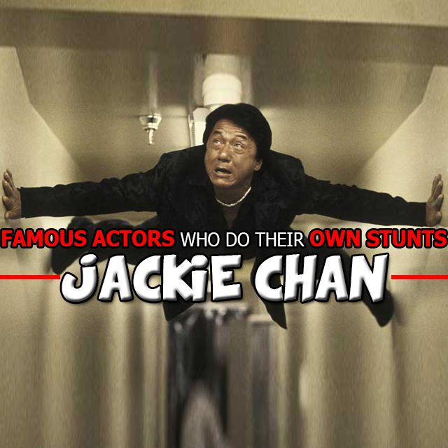 Find out which #FAMOUS #ACTORS DO THEIR OWN #STUNTS HERE !  #Adrenalin #AdrenalinJunkie