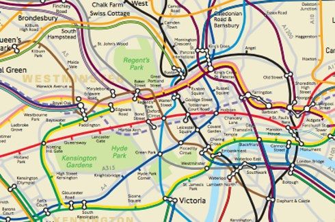 This Physically Accurate Tube Map Will Change The Way You Think About London - BuzzFeed News
