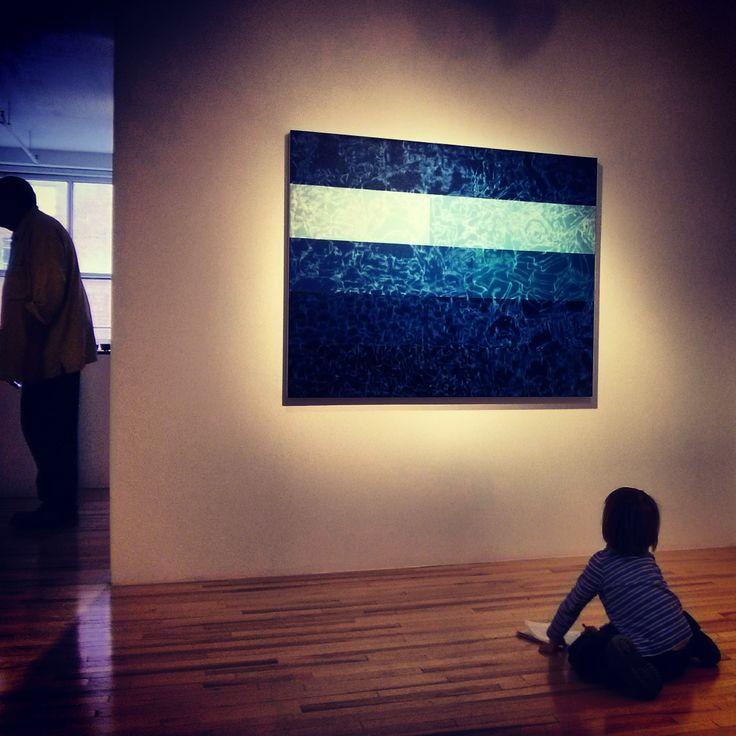 Les tableaux de David Gillanders inspirent même les plus jeunes : on adore de tels élans créatifs !