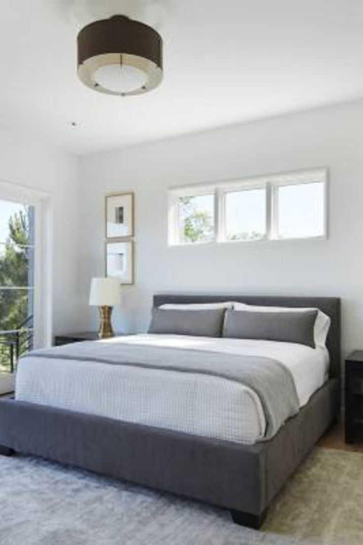 51 Gray Bedroom Decor Ideas Simple Bedroom Master Bedrooms