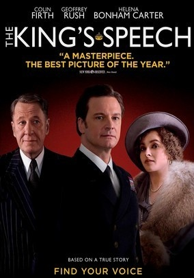 THE KING'S SPEECH (2010) - Britain's King George VI struggles with an embarrassing stutter for years until he seeks help from unorthodox Australian speech therapist Lionel Logue in this biographical drama that chalked up multiple Academy Awards, including Best Picture.