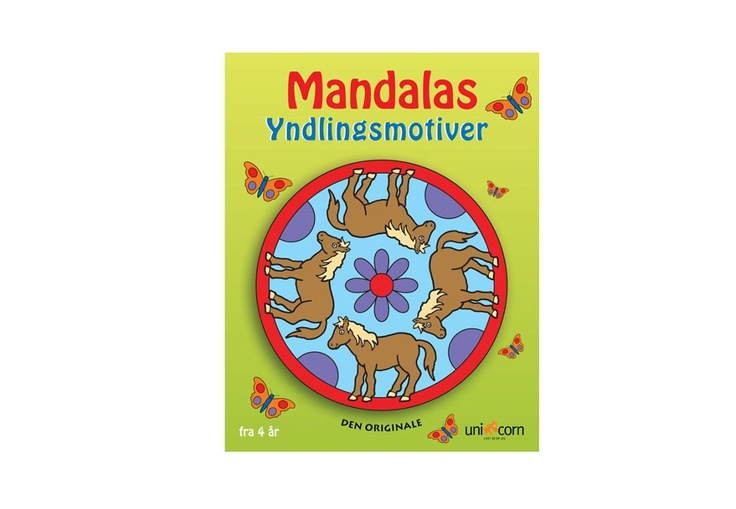 Mandalas Yndlingsmotiver, fra 4 år