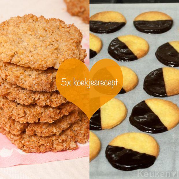 5x koekjesrecept - Keuken♥Liefde