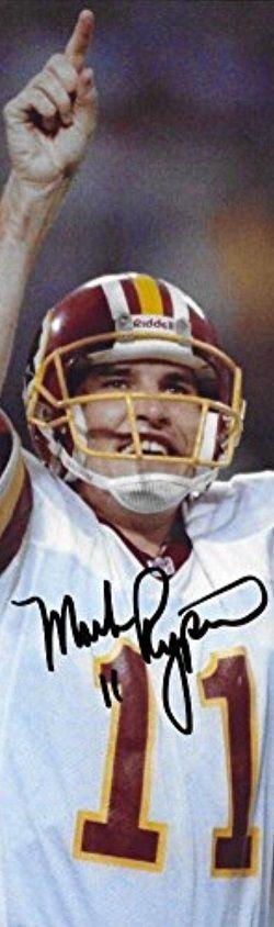 Mark Rypien. Super Bowl XXVI MVP. Att:33 Comp:18 Yds:292 TD:2 In:1 rate:92.1 #NFL #superbowl