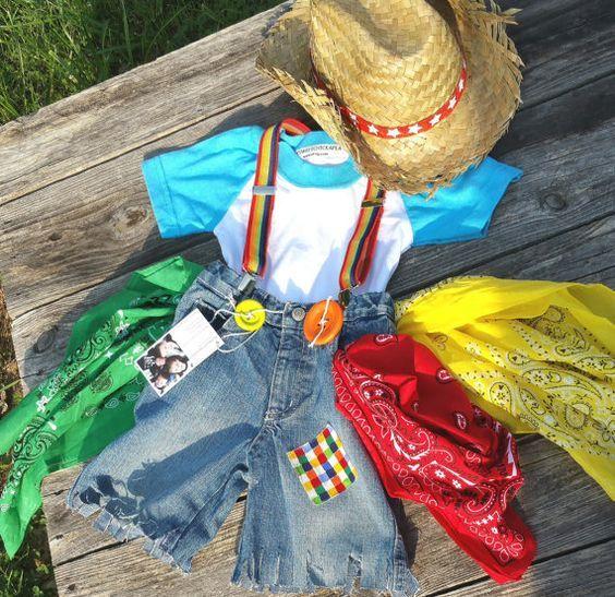Kids Clown Costume, Boys Rodeo Clown, Rodeo Boys Costume, Cowboy ...