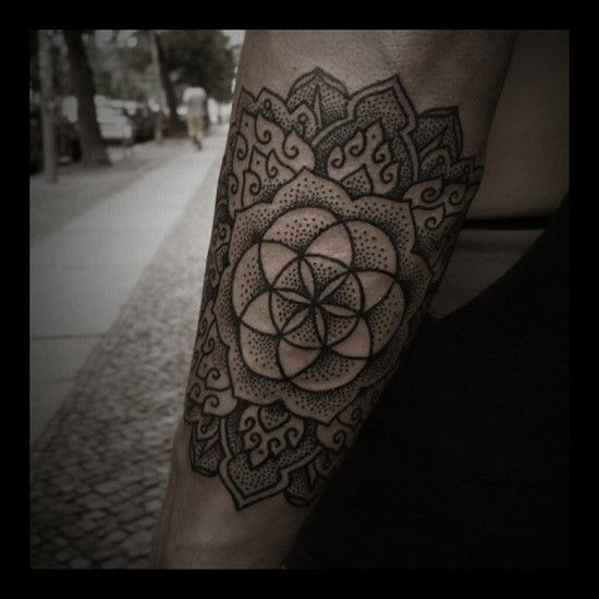35 Spiritual Mandala Tattoo Designs: 14 Best Tattoos Of Sacred Geometry Shapes Images On