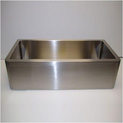 "Empire Industries Farm Single Undermount Loft Kitchen Sink Size: 33"""