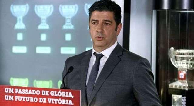 Benfica: Rui Vitória tranquilo com a presença no tribunal