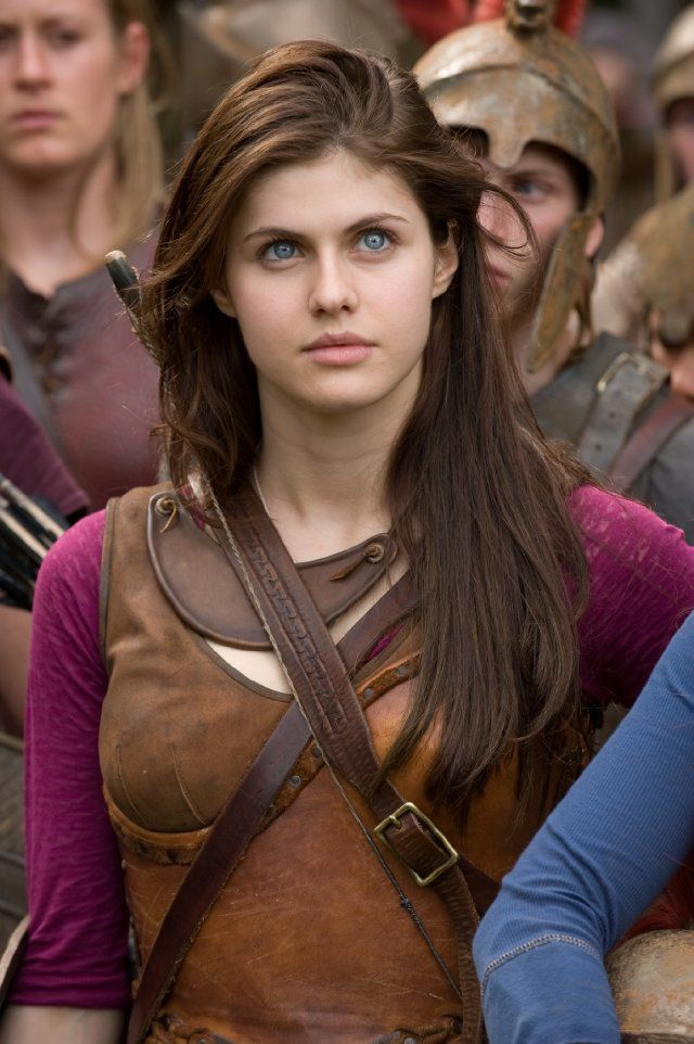 Alexandra Daddario in Percy Jackson & the Olympians: The Lightning Thief