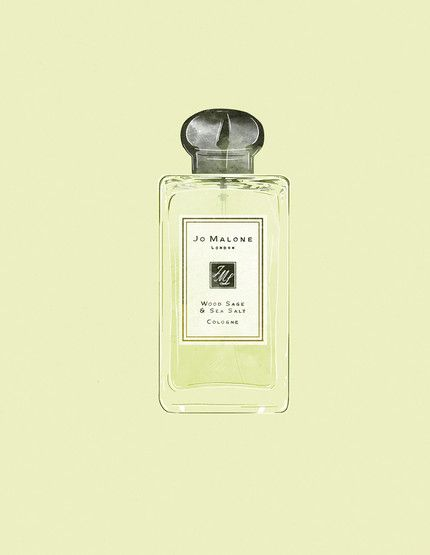 Babeth Lafon - Illustration for Marie Claire France Tiphaine-illustration #parfum #jomalone #marieclairefrance