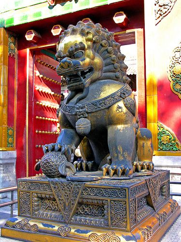 Chinese dragon, Imperial Palace, Forbidden City, Beijing, China