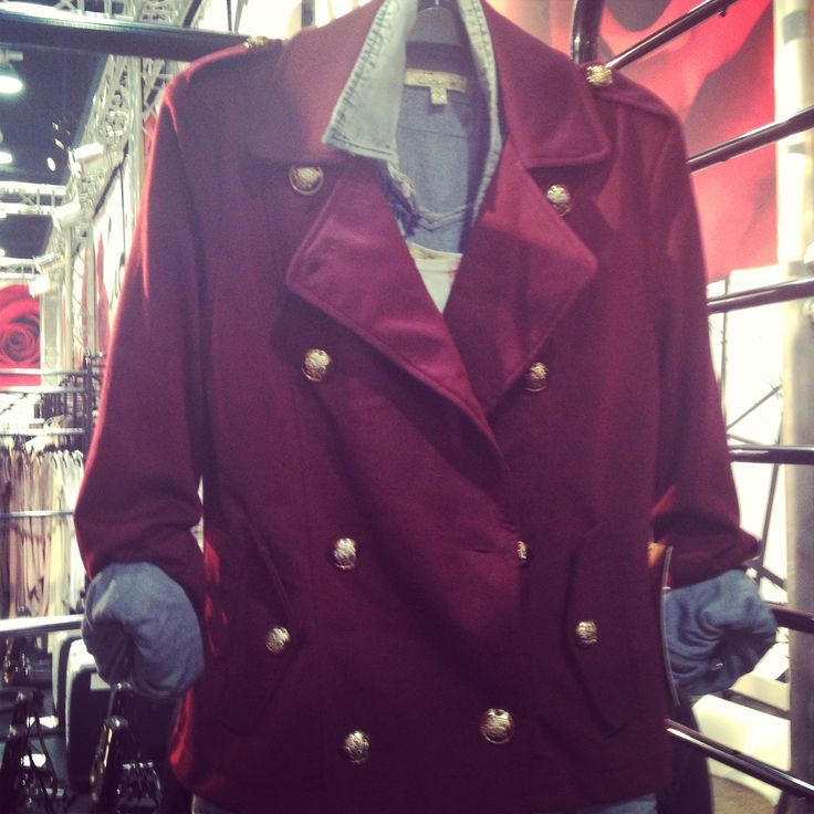 Loving this fall trend! Oxblood red! Like my fall trend photo's follow chic style Utah on Instagram