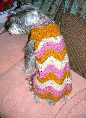 SUÉTERES PARA MIS MASCOTAS PATRONES CON GRÁFICOS PARA REALIZAR A CROCHET | Patrones Crochet, Manualidades y Reciclado
