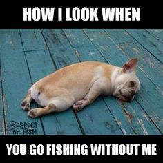 When You Go Fishing Without Me