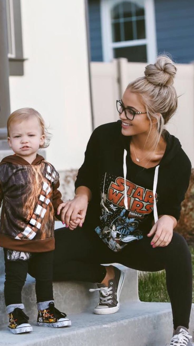 So me as a mom. Star Wars