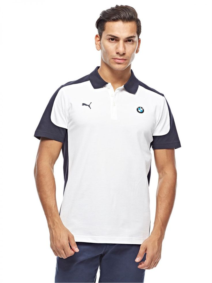 Buy Puma Polo Shirt for Men - White - Tops | UAE | Souq