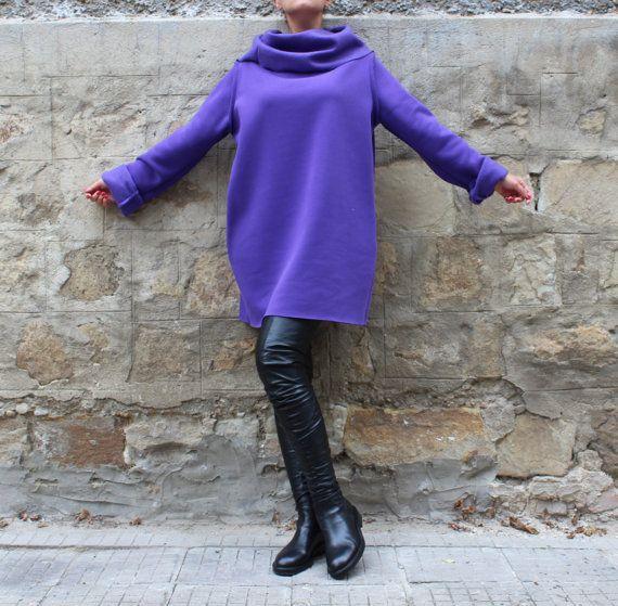 Viola abito maxi Mini abito autunno inverno di cherryblossomsdress