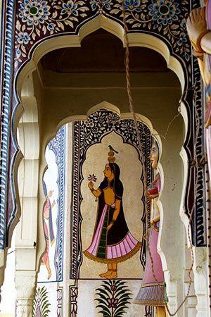 Indian Haveli Interior