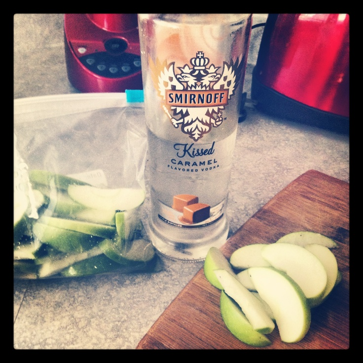 how to make vodka with apples