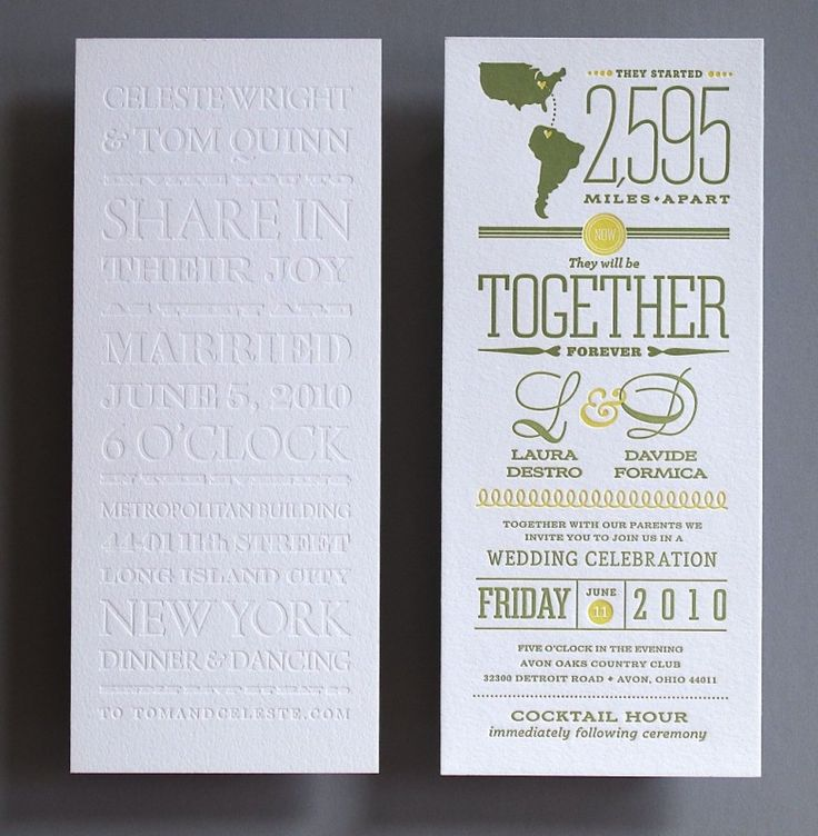 Tea Length Invitations Judy Clark Letterpress
