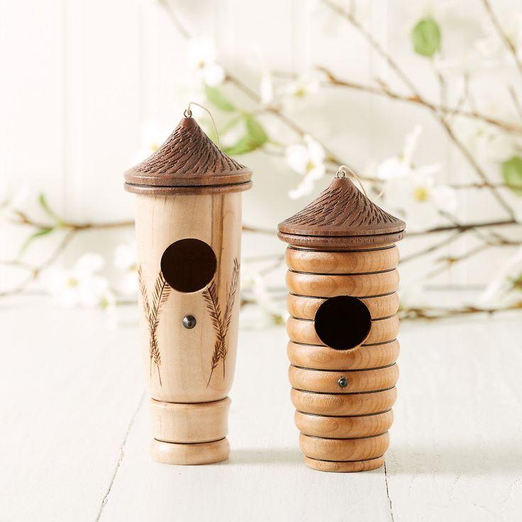 Wooden Hummingbird House in 2020 Hummingbird house