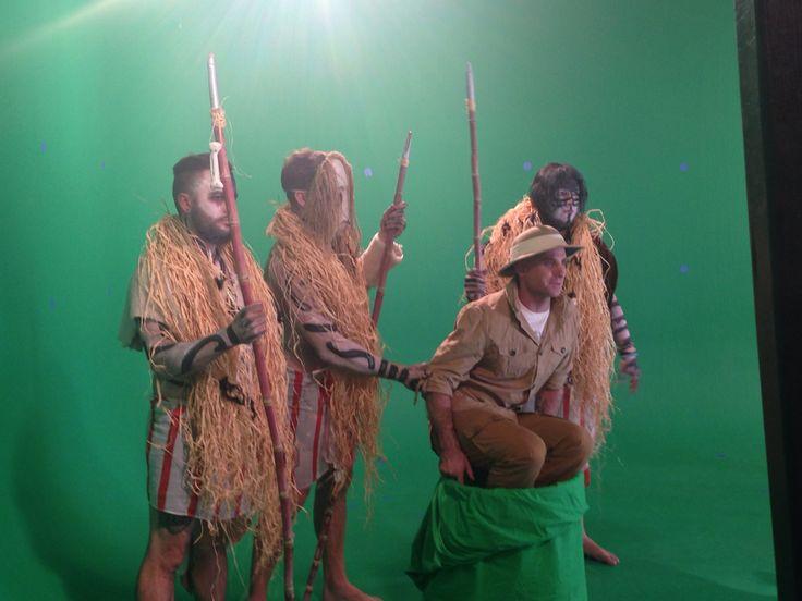 Video shoot for Treasures #parlotones #antefacts