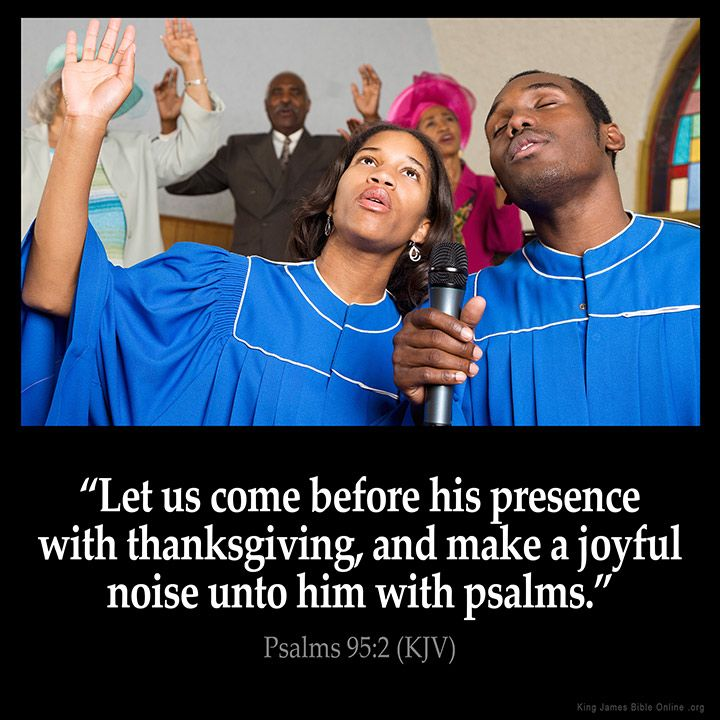 Psalms 95:2  Let us come before his presence with thanksgiving and make a joyful noise unto him with psalms.  Psalms 95:2 (KJV)  from King James Version Bible (KJV Bible) http://ift.tt/1TMMRbv  Filed under: Bible Verse Pic Tagged: Bible Bible Verse Bible Verse Image Bible Verse Pic Bible Verse Picture Daily Bible Verse Image King James Bible King James Version KJV KJV Bible KJV Bible Verse Pic Picture Psalms 95:2 Verse         #KingJamesVersion #KingJamesBible #KJVBible #KJV #Bible…