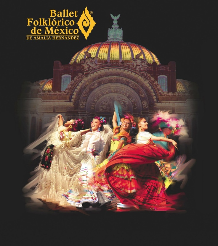"""Ballet Folklorico De Mexico de Amalia Hernandez (Palacio de Las Bellas Artes) Incredible show.  Truly a """"bucket list"""" moment for me..."""