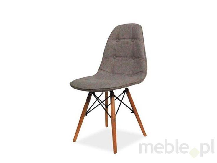 Krzesło Axel II szary-buk