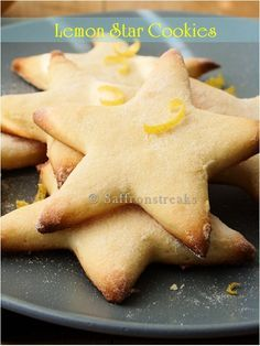 lemon star cookies for matariki