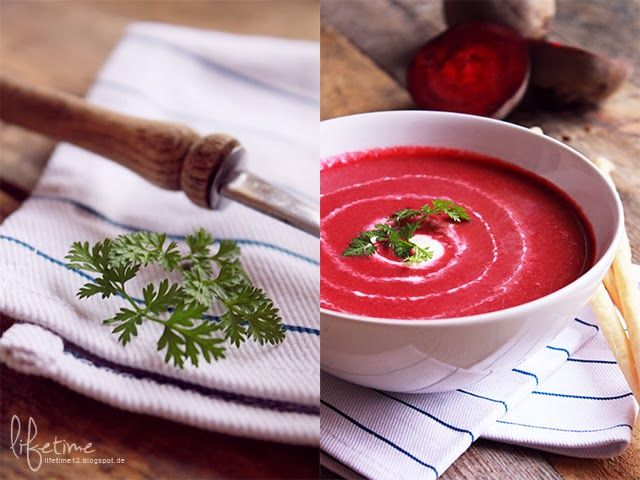 Rote Beete Suppe - Handsome