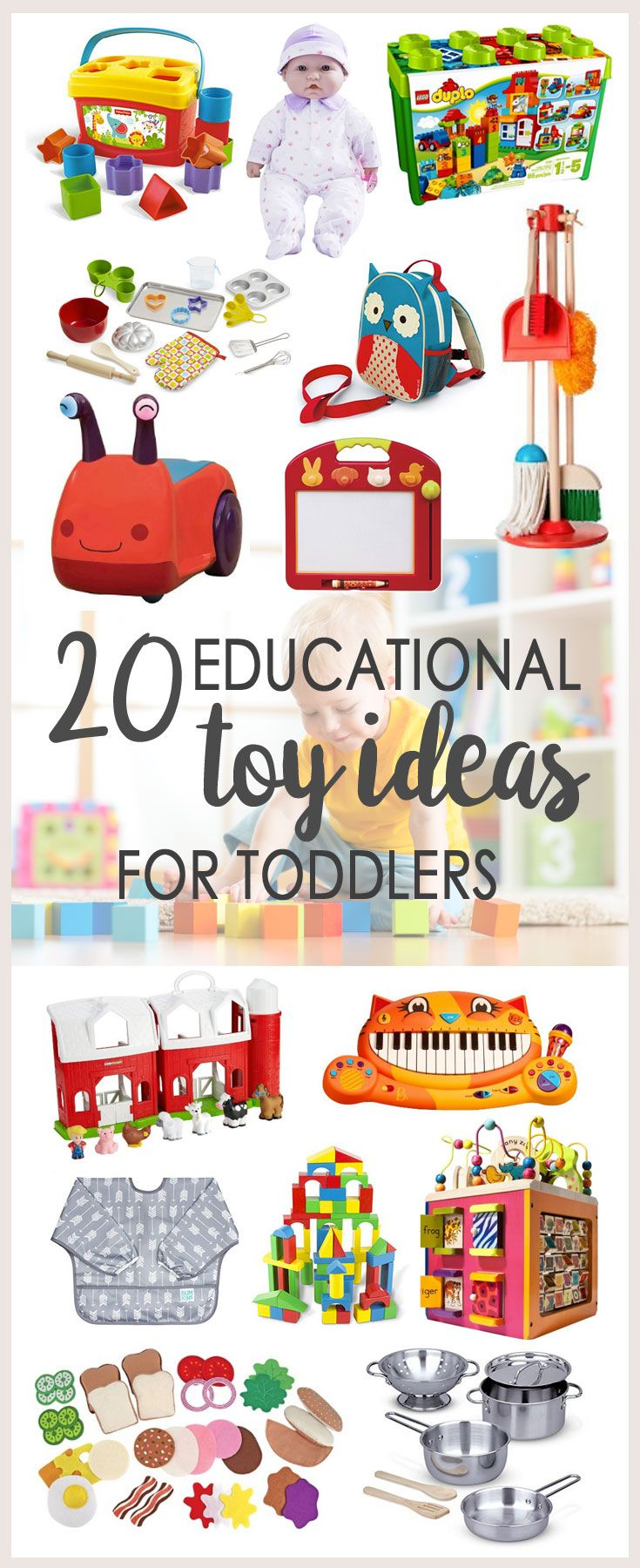 Toys For Tots Ideas : Unique toddler gifts ideas on pinterest diy toys for