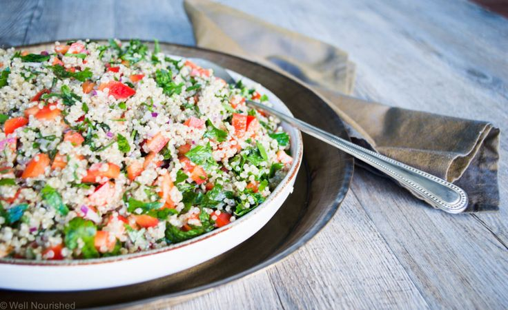 This Quinoa Tabbouleh is a delicious and nourishing salad that's super easy to make. Dare I say it's even better than the original!