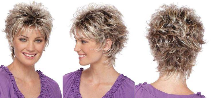 cabelos curtos repicados em camadas ondulados | Pics Photos - Cabelos Curtos Para Corte Repicado Para Cabelo Feminino ...