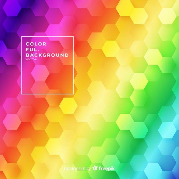 Fondo Colorido Vector Gratuito Fondos De Colores Vector De Fondo Vectores Gratis