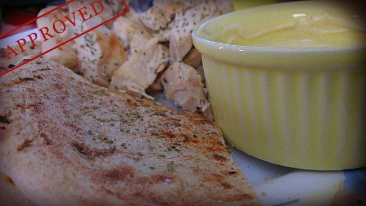 #Homemade grilled #chicken with #pita & mayonese mustard sauce