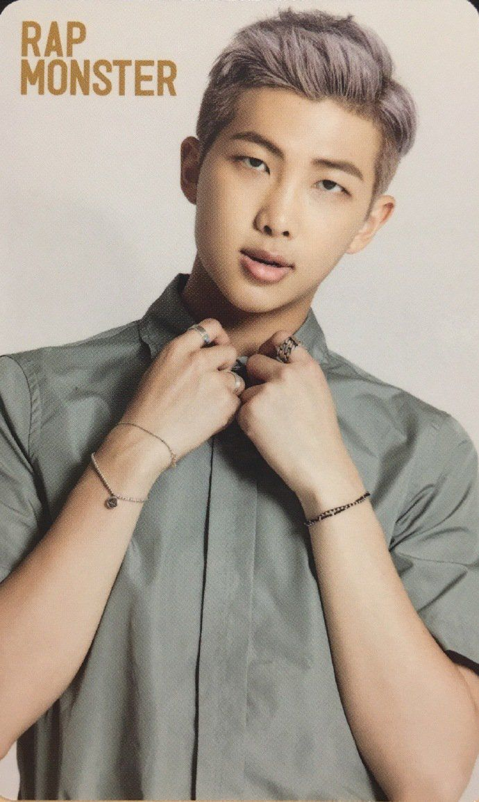 Photocard Namjoon | Álbum Youth
