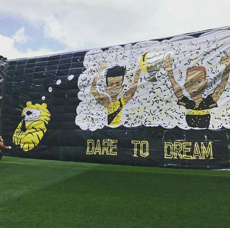 Richmond's 2017 Grand Final banner