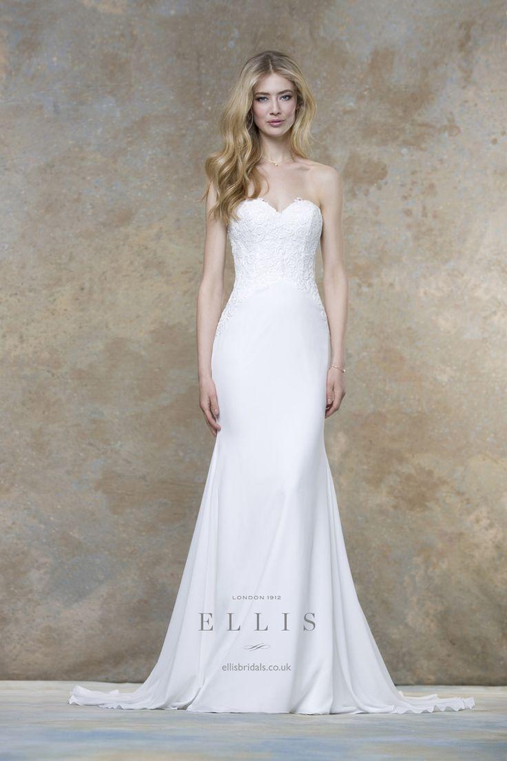 2016 Wedding Dress from Ellis Bridals Magnolia Bridal Collection itakeyou.co.uk #weddinggown #weddingdresses