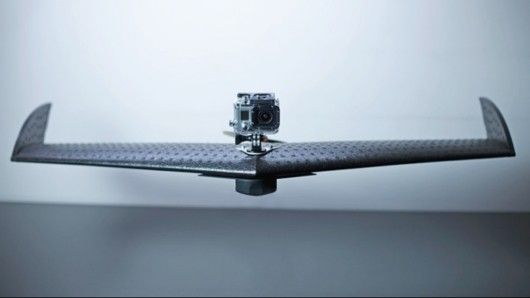 Targeted at users with no piloting experience, Lehmann Aviation's LA100 is a fully automatic UAV designed specifically to carry a GoPro Hero3 camera.