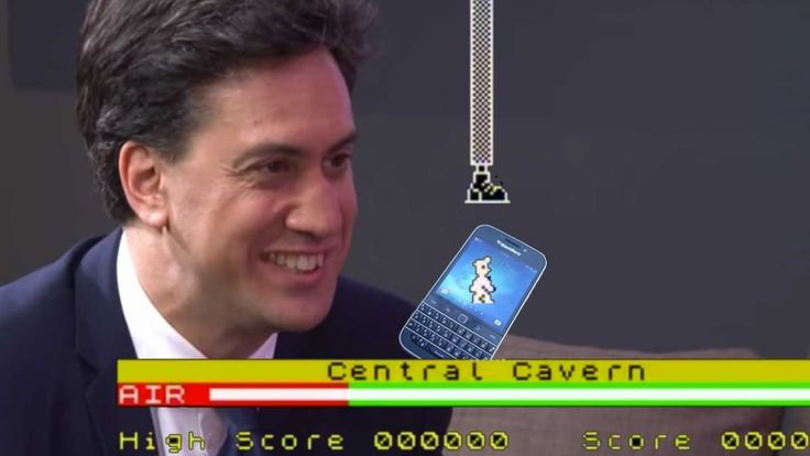 Vote Manic Miner, ban Blackberry: Ed Miliband shows his geek side   What do David Miliband and BlackBerry have in common? They've both been squashed by the giant foot of the Labour leader. Buying advice from the leading technology site