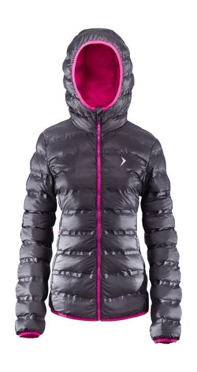 Down jacket, available in three colors with taped seams, which protect additionally from moisture. Jacket designed to be worn every day, warm filling and integrated hood provide thermal comfort.   Benefits: - Bionic Eco finishing -two, functional pockets -fabric easy in maintenance -reflective elements increase visibility