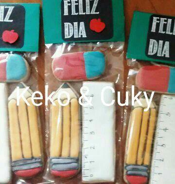 galletas para el dia del maestro