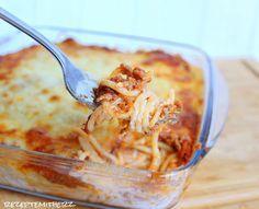 Rezepte mit Herz ♥: Spaghetti Auflauf mit viel Käse ♡