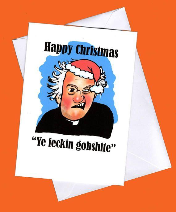 Father Jack Christmas Card