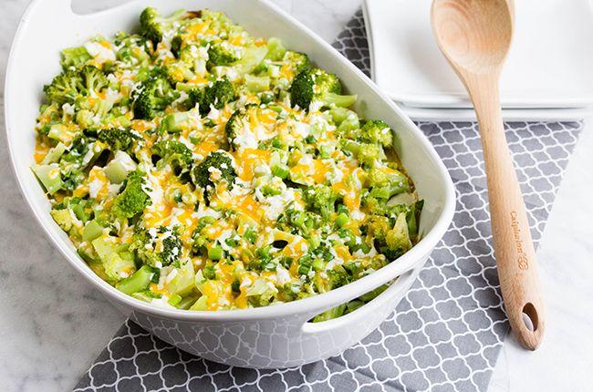 Recipe:+Cheesy+Twice-Baked+Potato+&+Broccoli+Casserole