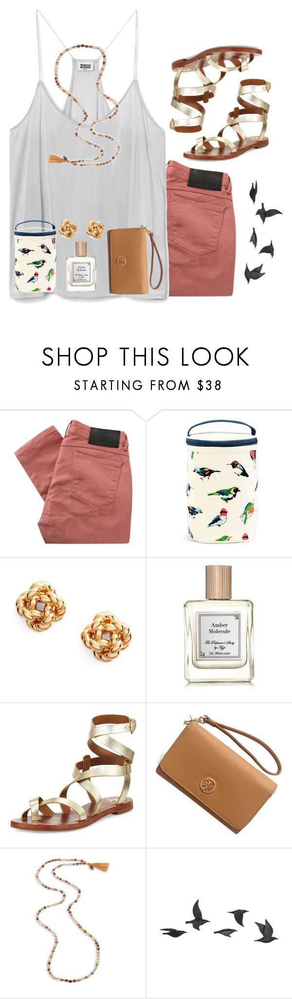 """""""•once upon a time a little birdy told me...•"""" by livnewell ❤ liked on Polyvore featuring Religion Clothing, Vera Bradley, Tory Burch, Chan Luu and Jayson Home"""