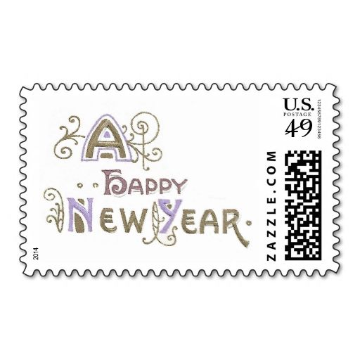 308 best New Year Postage Stamps images on Pinterest Postage - stamp template
