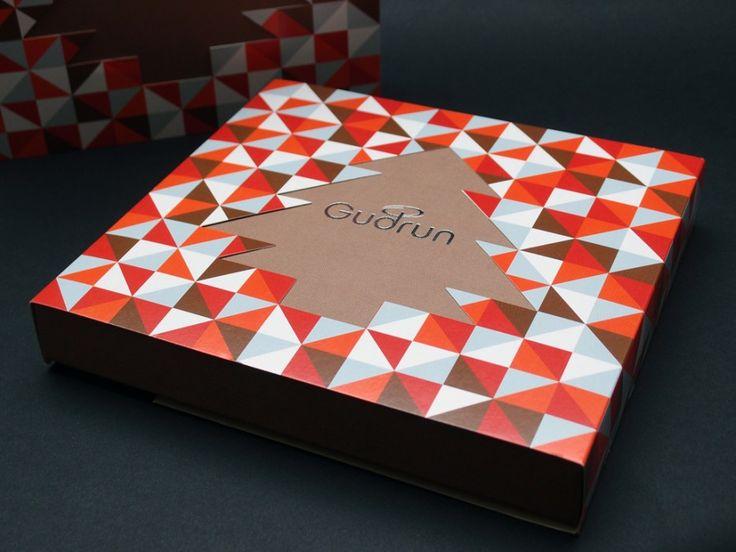 Gudrun Chocolates — Lessmore, The independent design practice of Cédric Aubrion
